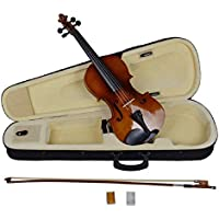 4/4 Full Size Natural Acoustic Wood Color Violin