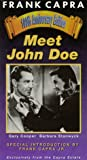 Meet John Doe (with special introduction by Frank Capra Jr.) [VHS]