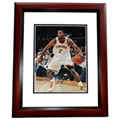 Kyrie Irving Autographed Hand Signed Cleveland Cavaliers 11x14 Photo MAHOGANY CUSTOM...