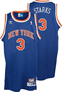 NBA adidas John Starks New York Knicks Soul Swingman Throwback Jersey - Royal Blue by adidas