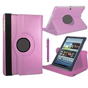 Stuff4 Stuff4 MR-GT27.0-L360 - Funda para tablet Samsung Galaxy Tab 2 7 (P3100 / P3110), rosa (rose clair)  Informática Comentarios y más información