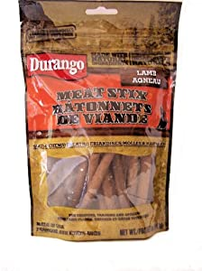 Durango All Natural DOG Stix Treats Meaty Lamb 6 Oz.