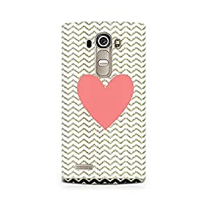 Mobicture Chevron Heart Printed Phone Case for LG G4