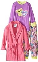 Baby Bunz Little Girls'  Koala Love Pajama Set