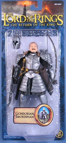 Lord Of The Rings - Gondorian Swordsman Epic Trilogy action figure