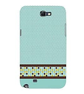 Cellular Pattern 3D Hard Polycarbonate Designer Back Case Cover for Samsung Galaxy Note i9220 :: Samsung Galaxy Note 1 N7000