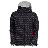 Marker Vega Printed Insulated Ladies Shell Ski Jacket by Marker
