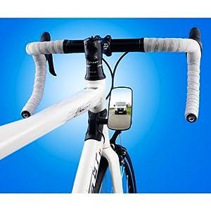 Generic Bike Eye Rear View Wide Mirror - Black