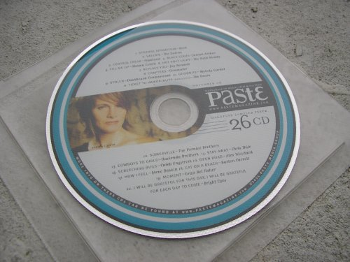 Paste Magazine Music Sampler #26