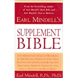 Earl Mindell's Supplement Bible (Better Health for 2003)by Earl Mindell