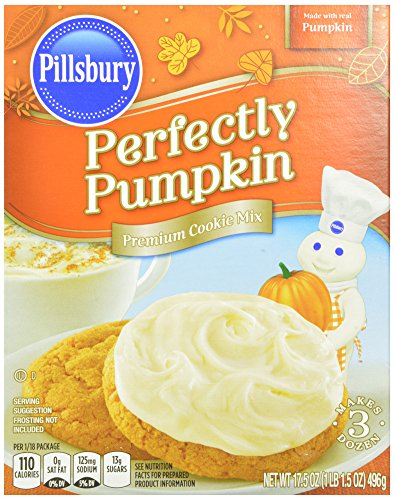 pillsbury-perfectly-pumpkin-cookie-mix-175-ounce-pack-of-12