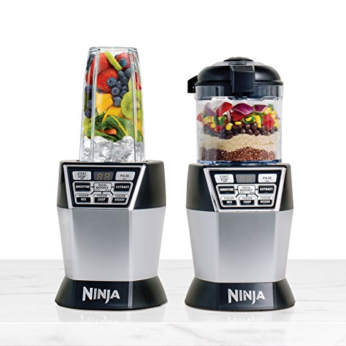 Nutri Ninja Nutri Bowl DUO with Auto-iQ Boost (NN102) (Ninja Blender Processor Bowl compare prices)