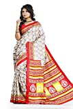 First loot Red & Beige color Art Silk Saree