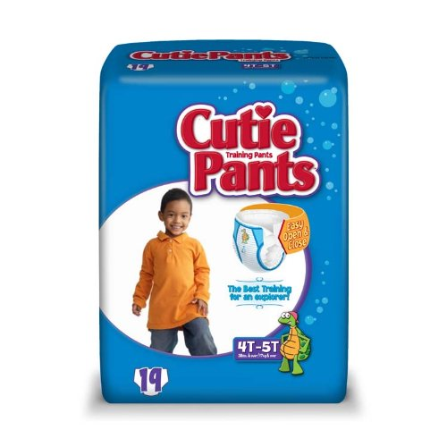 Cuties Training Pants, Boy, 76 Count (Pack of 4) - 1