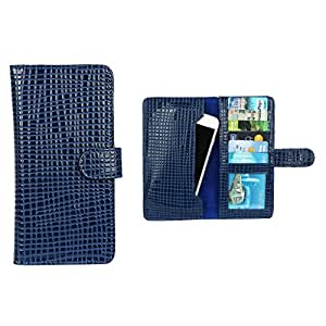 Dsas Pouch For Micromax A68 Smarty (Blue)