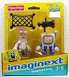 Imaginext, SpongeBob Squarepants Exclusive Figures, SpongeBob & Sandy, 2-Pack