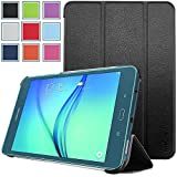 Samsung Galaxy Tab A 8.0 Case - HOTCOOL Ultra Slim Lightweight SmartCover Stand Case For Samsung Galaxy Tab A SM-T350NZBAXAR 8-Inch Tablet(With Smart Cover Auto Wake/Sleep), Black