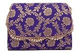 Tresor Women's Clutch (Purple)
