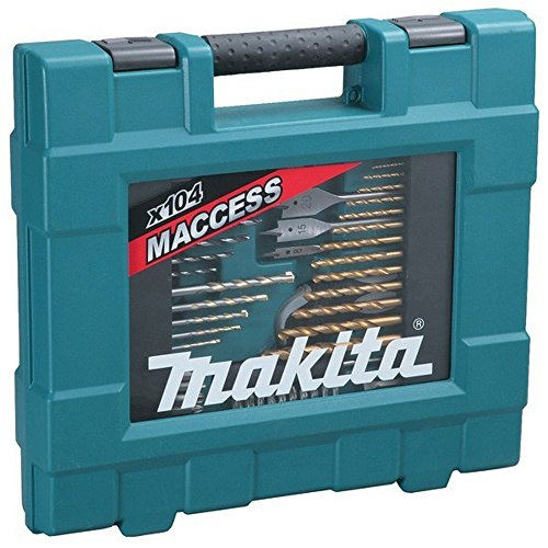 Makita D-31778 - Maletin De Accesorios Maccess 104 Pcs