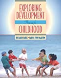 Exploring Development through Childhood (0205342124) by Fabes, Richard