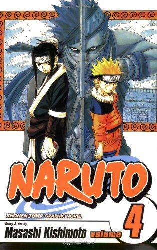 NARUTO -ナルト- コミック4巻 (英語版)