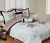 Wellington & Castle Trafalgar 7-Piece Comforter Set, Queen