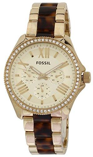 Fossil AM4499 - Reloj para mujeres, correa de acero inoxidable