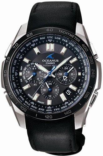 CASIO(カシオ) 腕時計 OCEANUS TOUGH MVT タフソーラー 電波時計 MULTIBAND6 OCW-T601TLB-1AJF メンズ