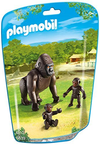 PLAYMOBIL Gorilla with Babies Building Kit