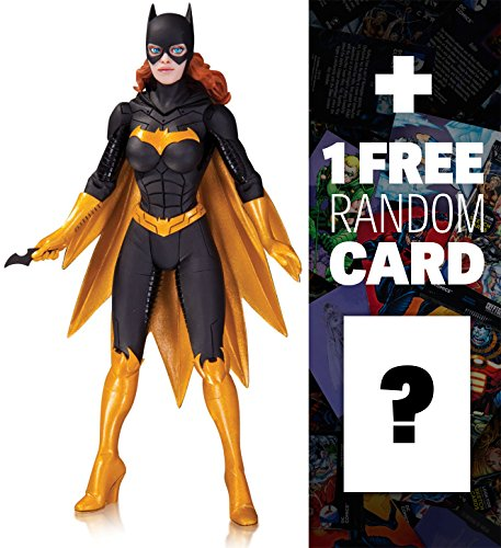 "Batgirl by Greg Capullo: ~6.5"" DC Collectibles DC Comics Designer Action Figures Series #3 + 1 FREE Official DC Trading Card Bundle"
