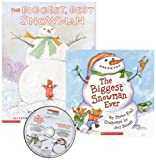 img - for The Biggest Snowman Ever/The Biggest, Best Snowman (CD & 2 Paperback Books) book / textbook / text book