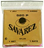 Savarez 520P Traditional Special Classical Guitar Strings, High Tension, Red Card