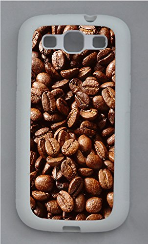 Samsung S3 Case Coffee Beans Tpu Custom Samsung S3 Case Cover White