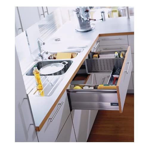 "Blum Tandembox Sink Drawer With Blumotion 500mm (19 11/16"") 125# Class"
