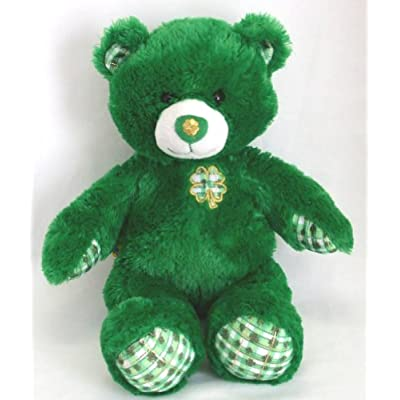 St patrick s day lucky clover teddy bear build a bear workshop inc
