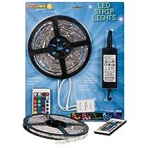 Big Sale Sunshine Systems RGB LED Strip Light Kit Reel Multicolored