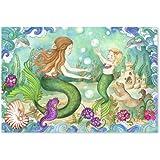 Melissa & Doug Mermaid Playground 48 Piece Floor Puzzle