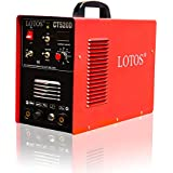 Lotos Technology NC-FXDR-KJUX CT520D 50 amps Plasma Cutter, 200 amps Tig Welder and 200 amps Stick Welder, Red