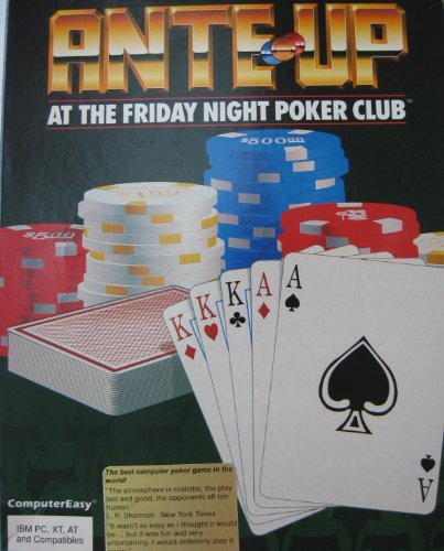 Ante-Up: At The Friday Night Poker Club - 5.25
