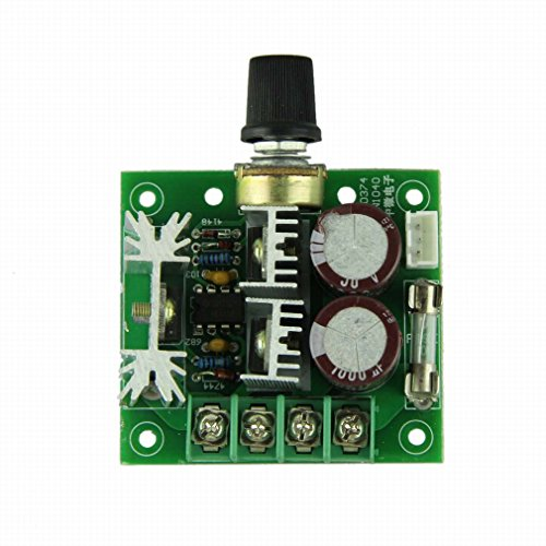 Voberry® New Arrival Hot Selling Dc Motor 12V-40V 10A Pwm Dc Motor Speed Control Speed Switch W/ Knob