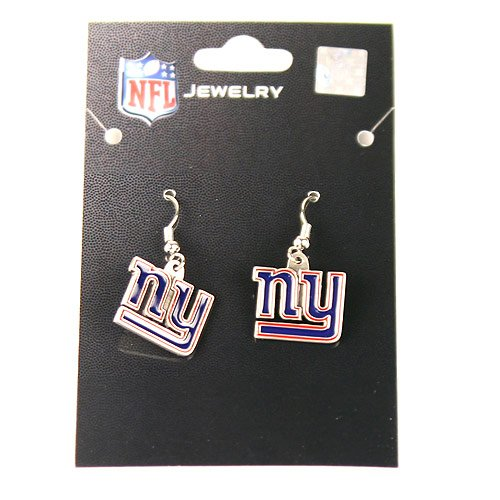 NFL New York Giants Dangle Earrings at Amazon.com