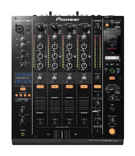 Pioneer Djm-900Nexus 4-Channel Dj Mixer, Black