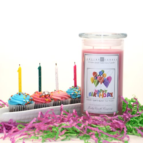 Happy Birthday To You Jewelry Greeting Candles By Jewelry Candle Company