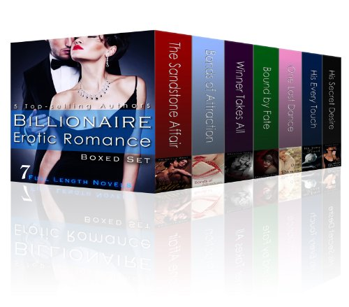 Billionaire Erotic Romance Boxed Set: 7 Steamy Full-Length Novels by Priscilla West
