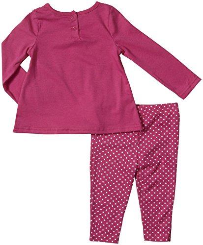 Hello Kitty Baby Girls' Set Legging with Polka Dots, Fushcia Purp, 24 Months