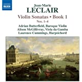 Leclair: Violin Sonatas, Book 1, Nos. 1-4