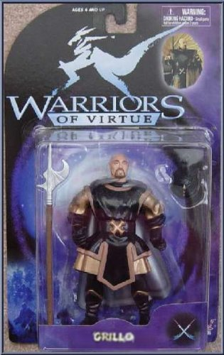 Warriors of Virtue Grillo 1997 Action Figure - 1