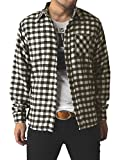 (リミテッドセレクト) LIMITED SELECT ゆうパケット発送 ネルシャツ メンズ 長袖 チェック シャツ ワークシャツ 大きいサイズ / R4L-0720 / M / A柄 9