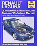 Renault Laguna Petrol and Diesel Service and Repair Manual: 2001 to 2007 (Haynes Service and Repair Manuals)