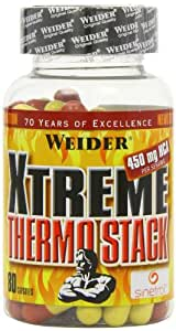 WEIDER Xtreme Thermo Stack- 80 Kapseln, 1er Pack (1 x 100 g)